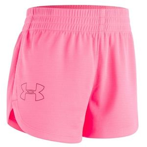 "UA "" Give it all you got "" shorts toddler Girls 3T"